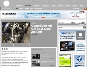 Med EuroNews kan man få nyheder på hele 8 sprog