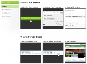 How to Share Your Screen   Screenleap
