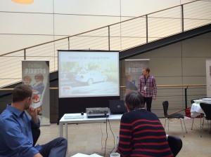 Martin Exner præsenterer Coding Pirates og tankerne bag