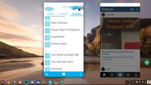 Her er Skype og Instagram kommet i fuld sving på Chromebooken. Især Skype er savnet trods de gode muligheder med Hangouts...