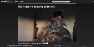 Her et klip med en træt oprørssoldat i dokumentaren Enduring Syrias War om den lange oprørskrig i Syrien.